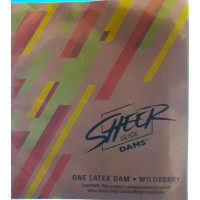 Sheer Glyde Dams ONE LATEX DAM WILDBERRY